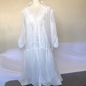 White Jessica Simpson Dress